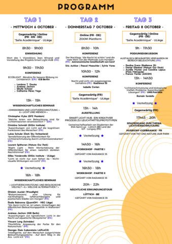 thumbnail of Programme SLD – ALL